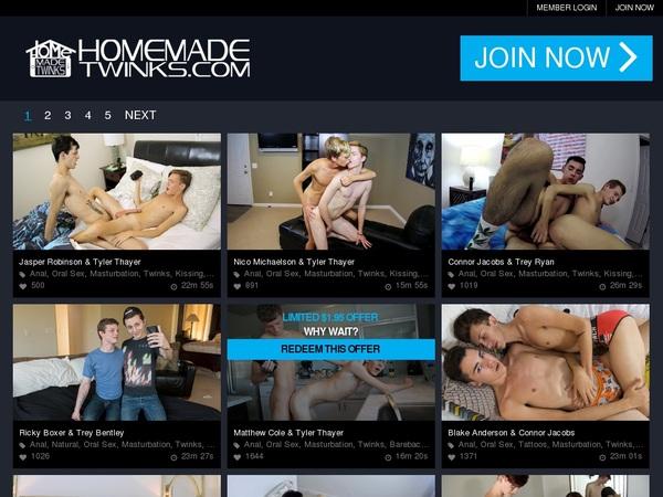 Homemadetwinks.com Wachtwoord
