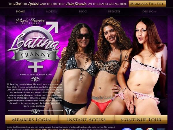 Latina Tranny Ccbill.com