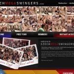 Free Czech Mega Swingers Video