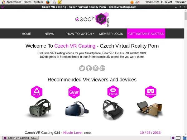 Casting VR Czech Site Rip