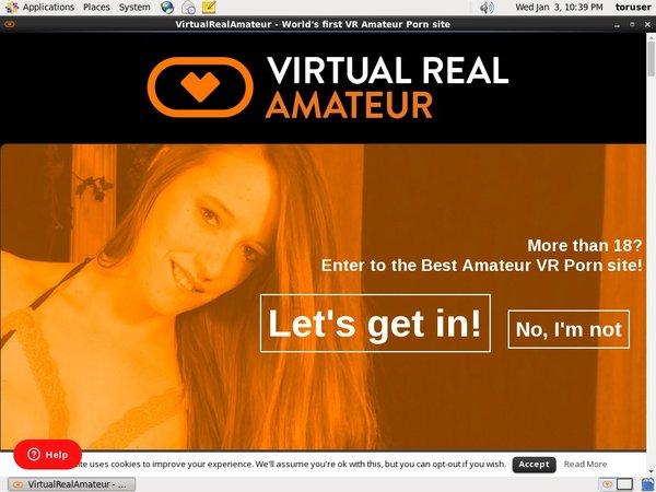 Virtual Real Amateur Trial Link