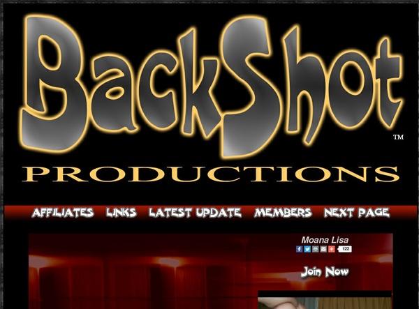 Backshot Productions Signup Page