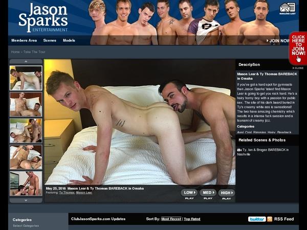 Club Jason Sparks Paypal Trial
