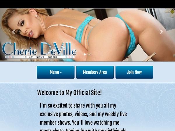 Cherie DeVille Promos